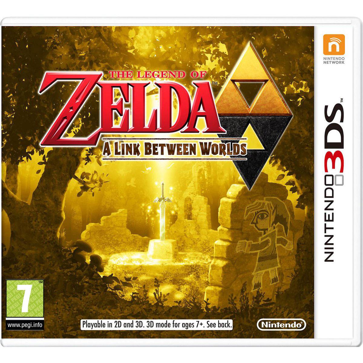 Jeux Nintendo 3DS The Legend of Zelda : A Link between Worlds (Nintendo 3DS/2DS) The Legend of Zelda : A Link between Worlds (Nintendo 3DS/2DS)