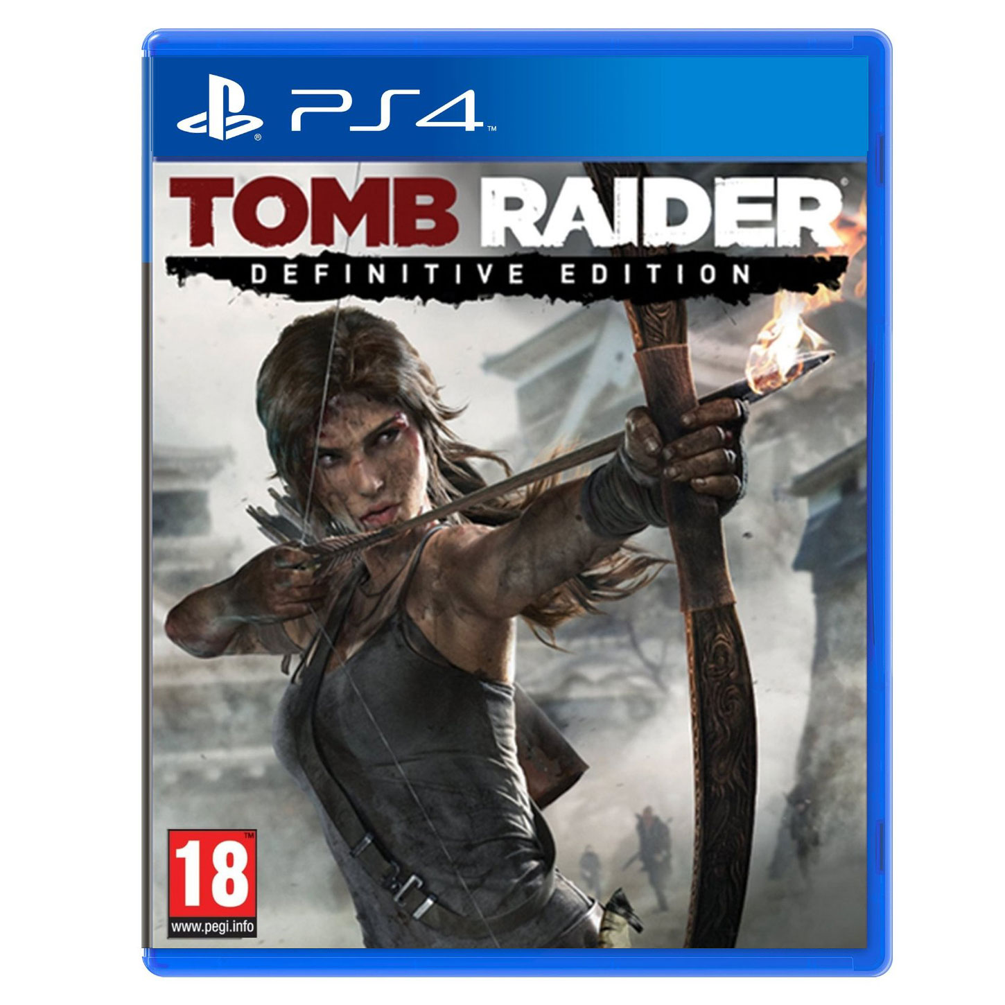 tomb raider definitive edition ps4 jeux ps4 square enix sur. Black Bedroom Furniture Sets. Home Design Ideas