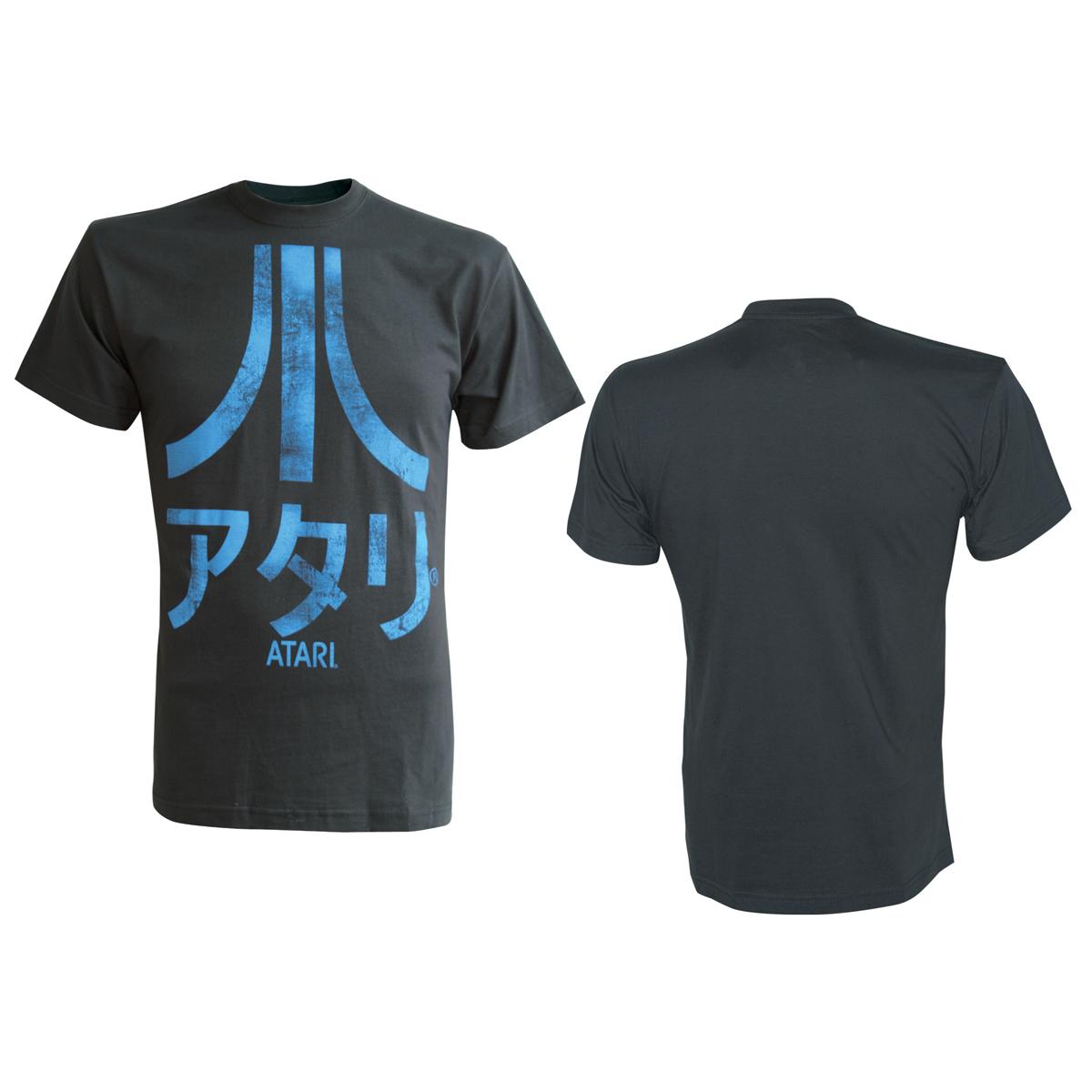 Jeux et Accessoires T-Shirt Atari Japan taille S T-Shirt anthracite Atari