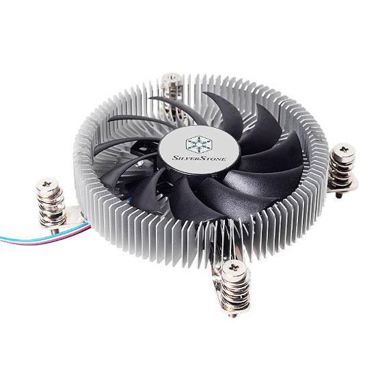 Ventilateur processeur SilverStone Nitrogon NT07-115X Dissipateur thermique low profile pour processeur (pour processeur Intel LGA1156/1155/1150)