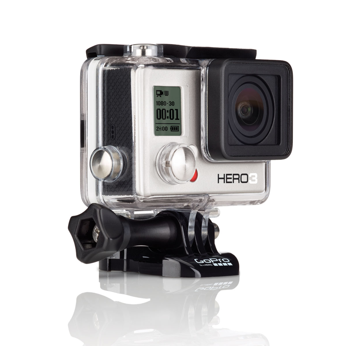 gopro hero 3 white edition 2014 bo tier slim cam ra. Black Bedroom Furniture Sets. Home Design Ideas
