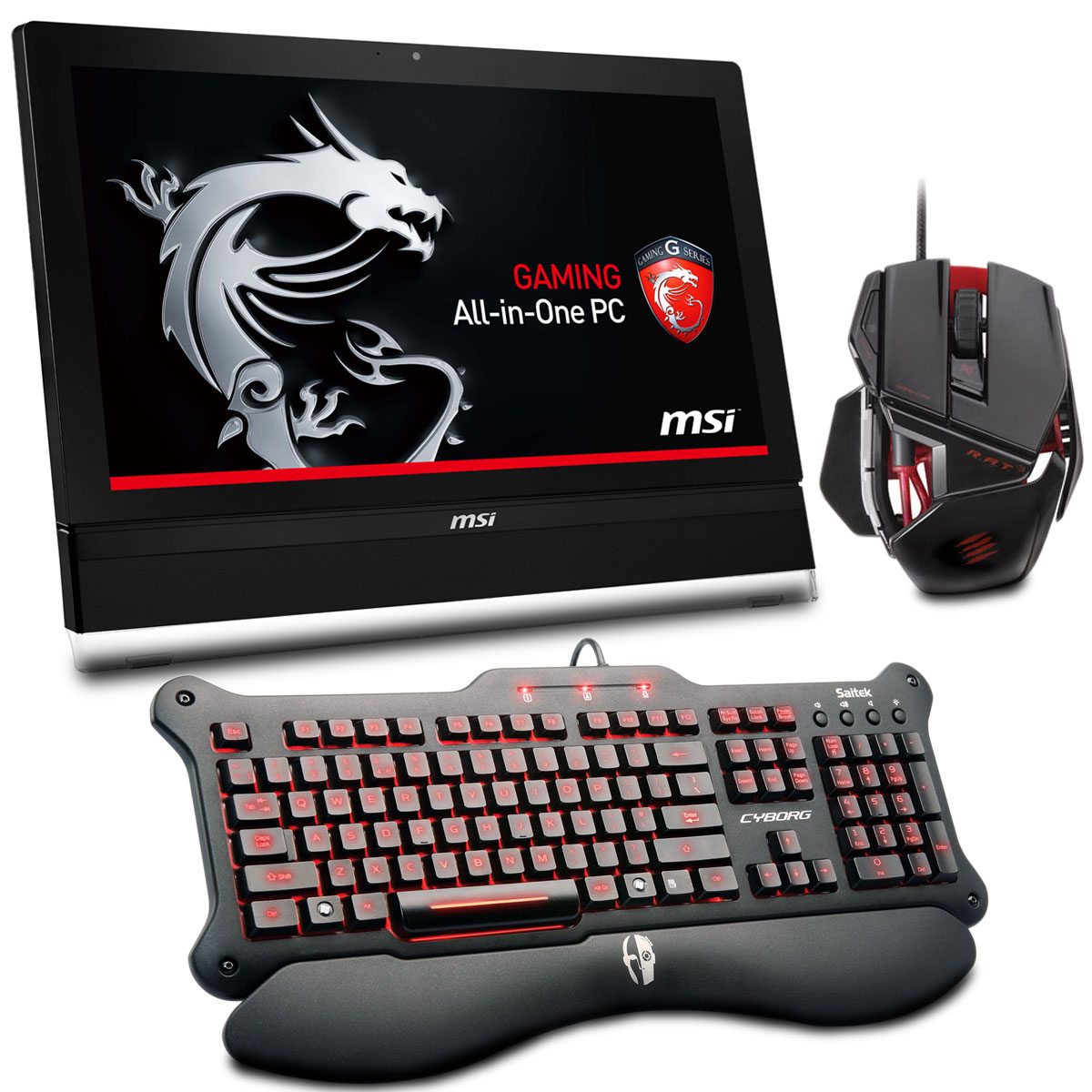 Msi Ag2712 005tw Gaming All In One Madcatz Cyborg R A T