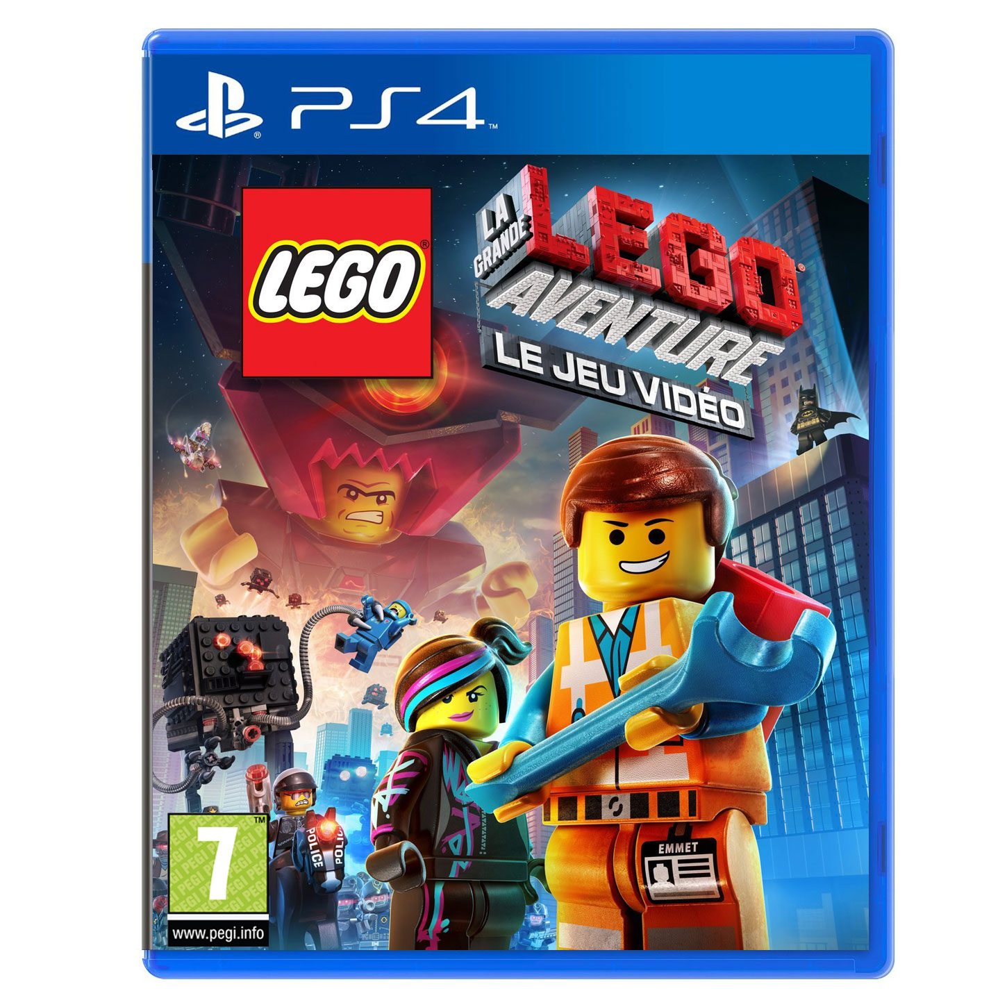 lego la grande aventure ps4 jeux ps4 warner bros games sur. Black Bedroom Furniture Sets. Home Design Ideas