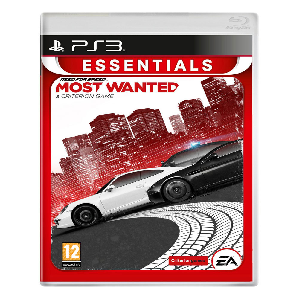 need for speed most wanted collection essentials ps3 electronic arts sur. Black Bedroom Furniture Sets. Home Design Ideas