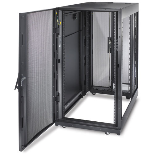 apc armoire netshelter sx 24u deep enclosure rack apc sur. Black Bedroom Furniture Sets. Home Design Ideas