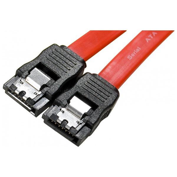 Serial ATA Câble SATA avec verrou (1 m) Compatible SATA 3.0 (6 Gb/s)