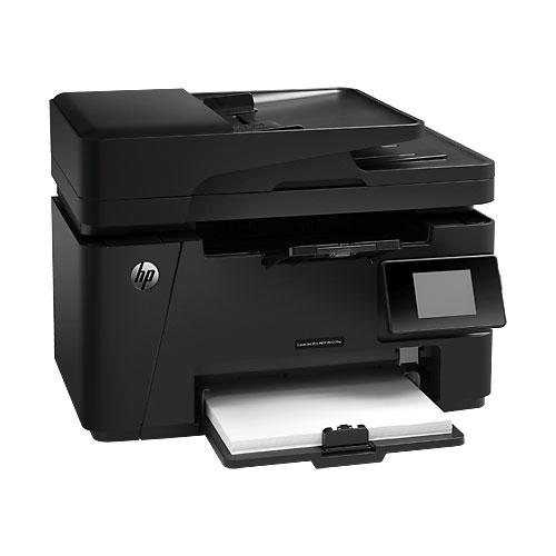 Imprimante multifonction HP LaserJet Pro MFP M127fw (CZ183A) Imprimante Multifonction laser monochorme 4-en-1 (USB 2.0/Ethernet/Wi-Fi)
