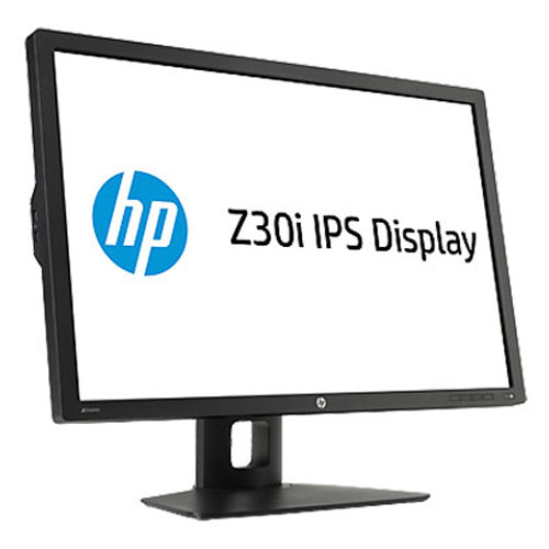 "Ecran PC HP 30"" LED - Z30I 2560 x 1600 pixels - 8 ms - Format large 16/10 - Dalle IPS Gen 2 - DisplayPort - Hub USB - Noir"