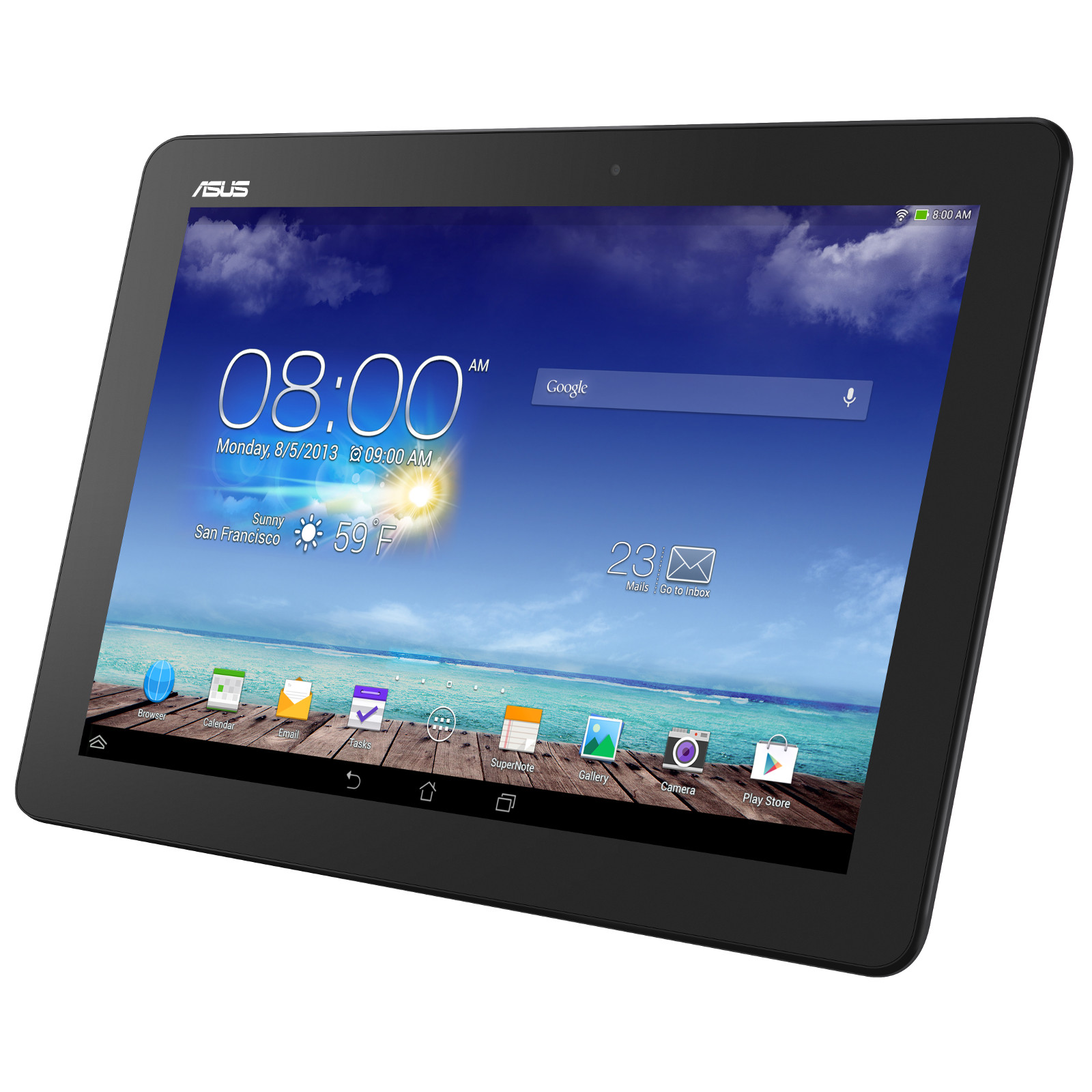 asus memo pad 10 me102a 1b016a gris tablette tactile asus sur. Black Bedroom Furniture Sets. Home Design Ideas