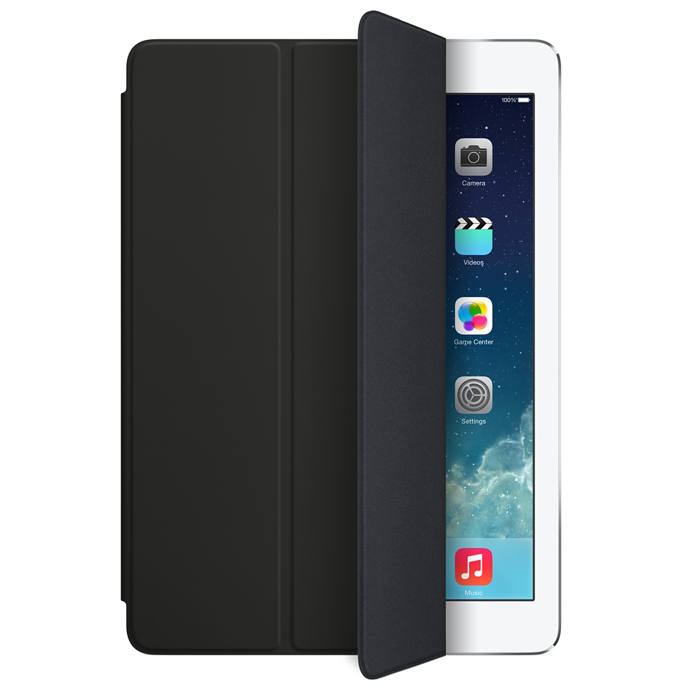 apple ipad air smart cover noir accessoires tablette apple sur. Black Bedroom Furniture Sets. Home Design Ideas