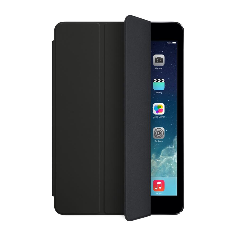 Accessoires Tablette Apple iPad mini Smart Cover Noir Protection écran pour iPad mini et iPad mini avec écran Retina