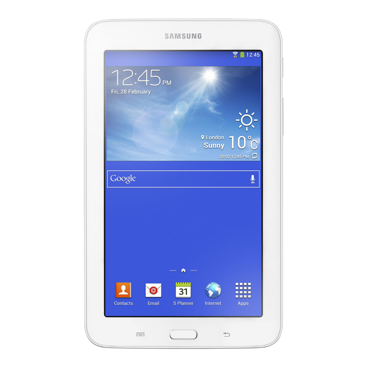 Samsung galaxy tab 3 lite 7 sm t110 8 go blanc tablette for Tablette samsung