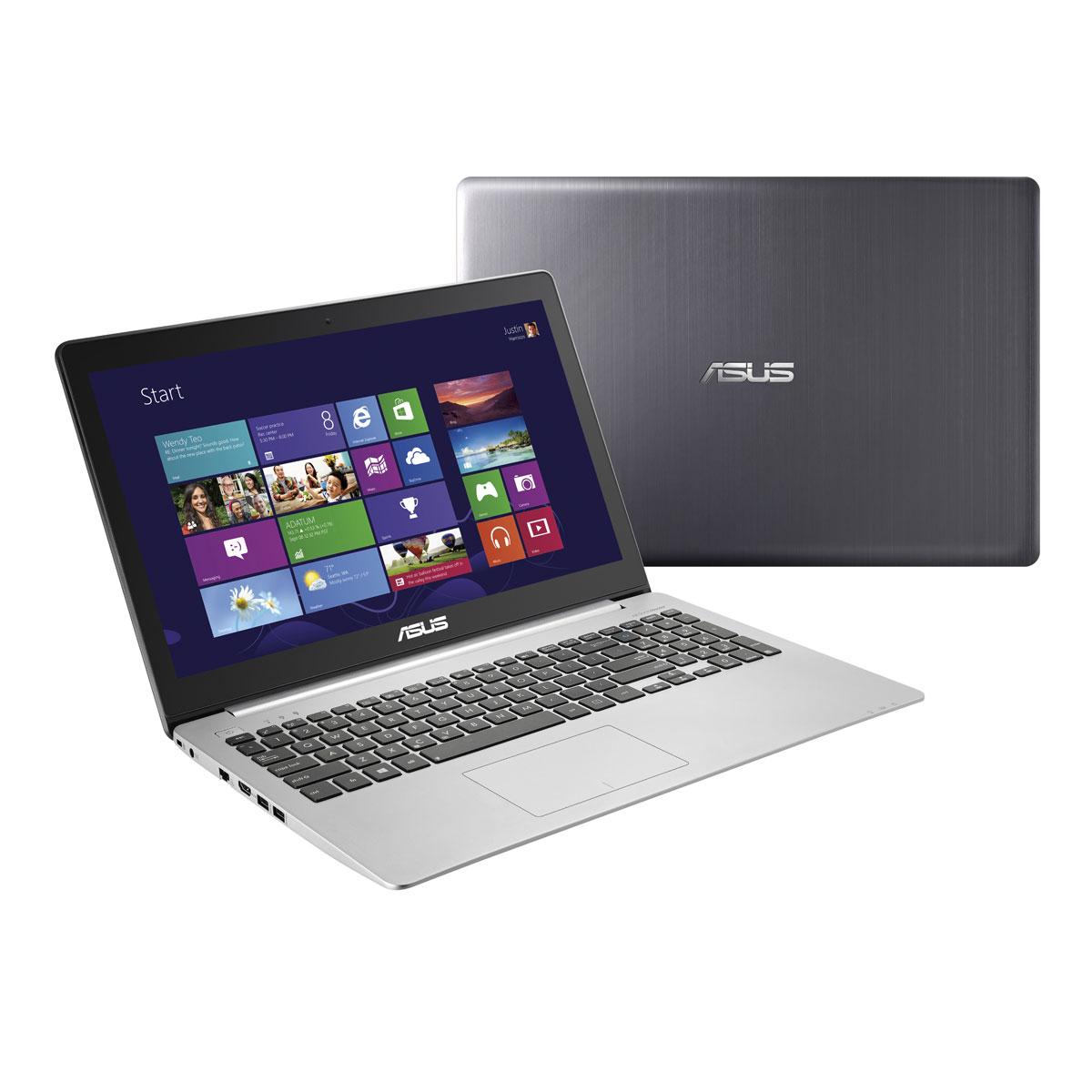 """PC portable ASUS K551LB-XX268H Intel Core i5-4200U 6 Go 1 To 15.6"""" LED NVIDIA GeForce GT 740M Graveur DVD Wi-Fi N Webcam Windows 8 64 bits (Garantie constructeur 1 an)"""