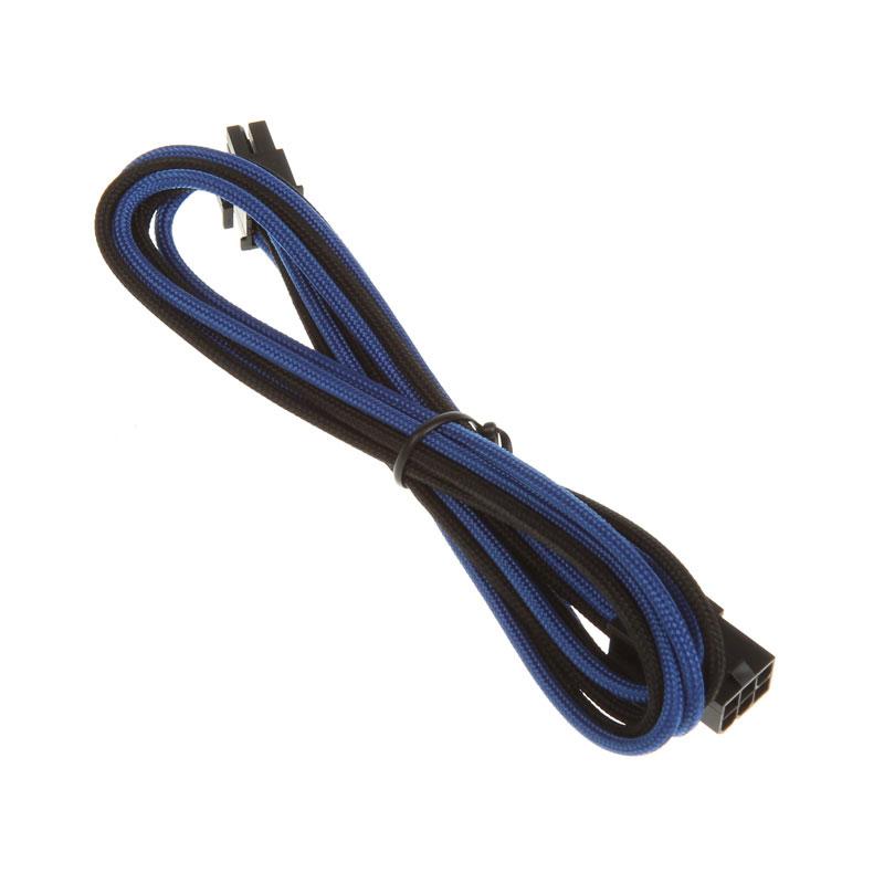 Alimentation BitFenix Alchemy Blue/Black - Extension d'alimentation gainée - PCI Express 6 broches - 45 cm Extension d'alimentation gainée - PCI Express 6 broches - 45 cm (coloris bleu/noir)
