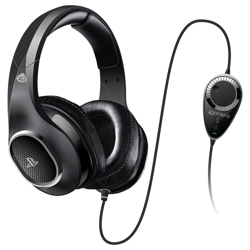 4gamers premium stereo gaming headset accessoires ps4 4gamers sur. Black Bedroom Furniture Sets. Home Design Ideas