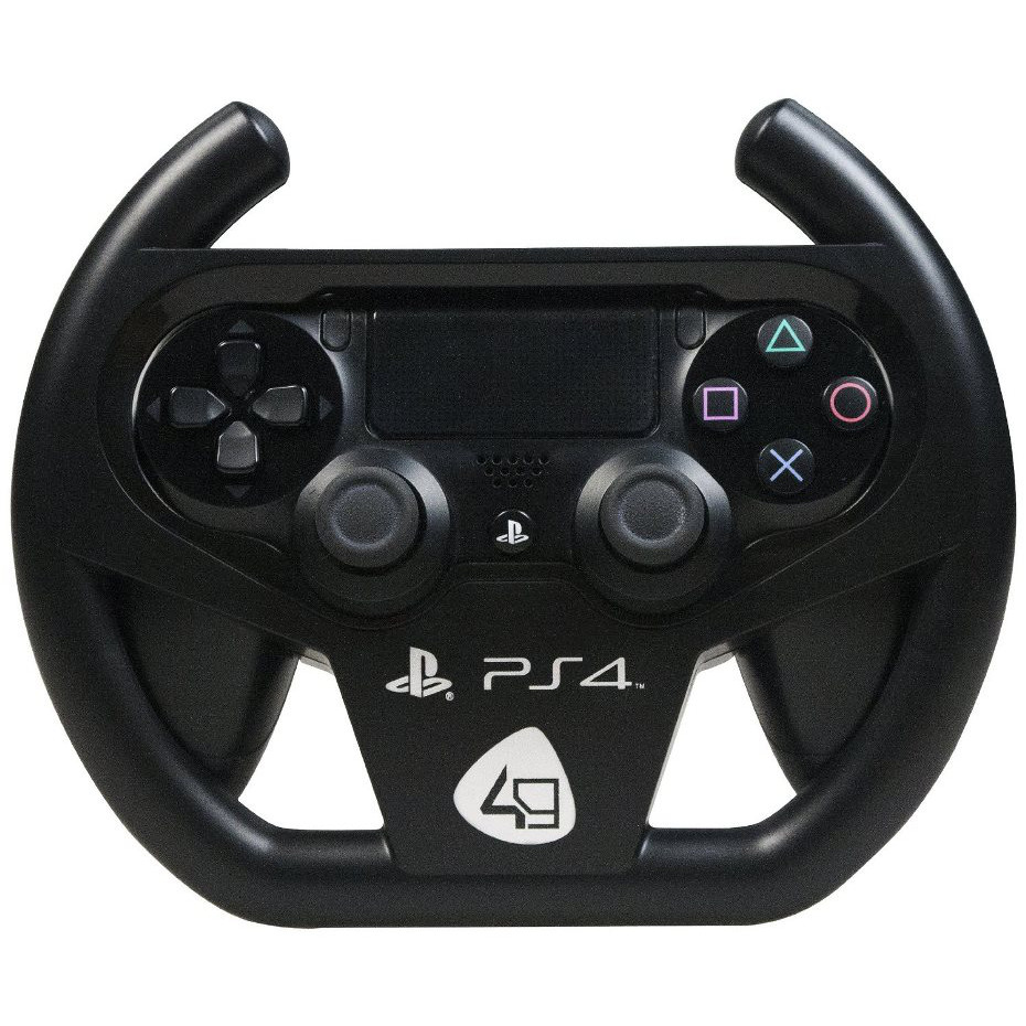 4gamers racing wheel compact accessoires ps4 4gamers sur. Black Bedroom Furniture Sets. Home Design Ideas