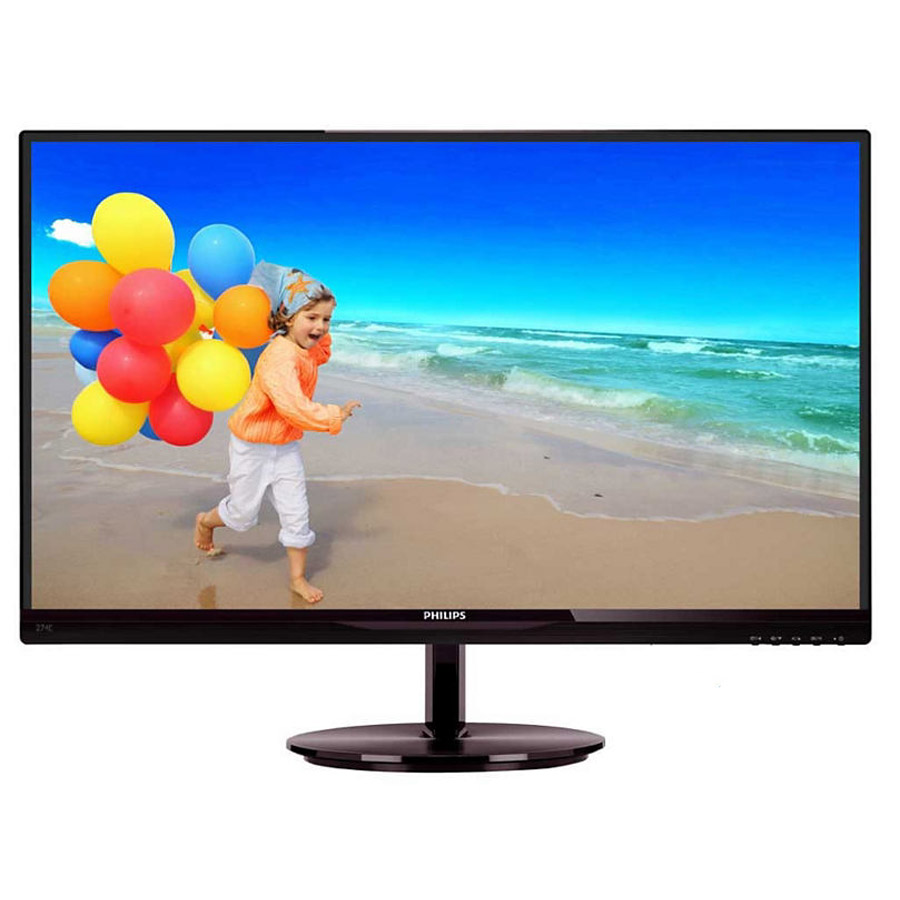 "Ecran PC Philips 27"" LED - 274E5QDAB 1920 x 1080 pixels - 5 ms - Format 16/9 - Full HD - MHL - HDMI - Dalle AH-IPS - Noir"