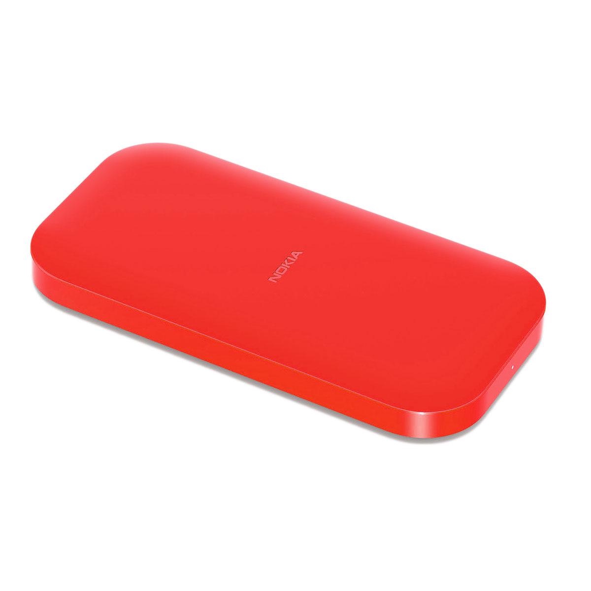 Nokia Socle De Chargement Sans Fil Dc 50 Rouge Chargeur