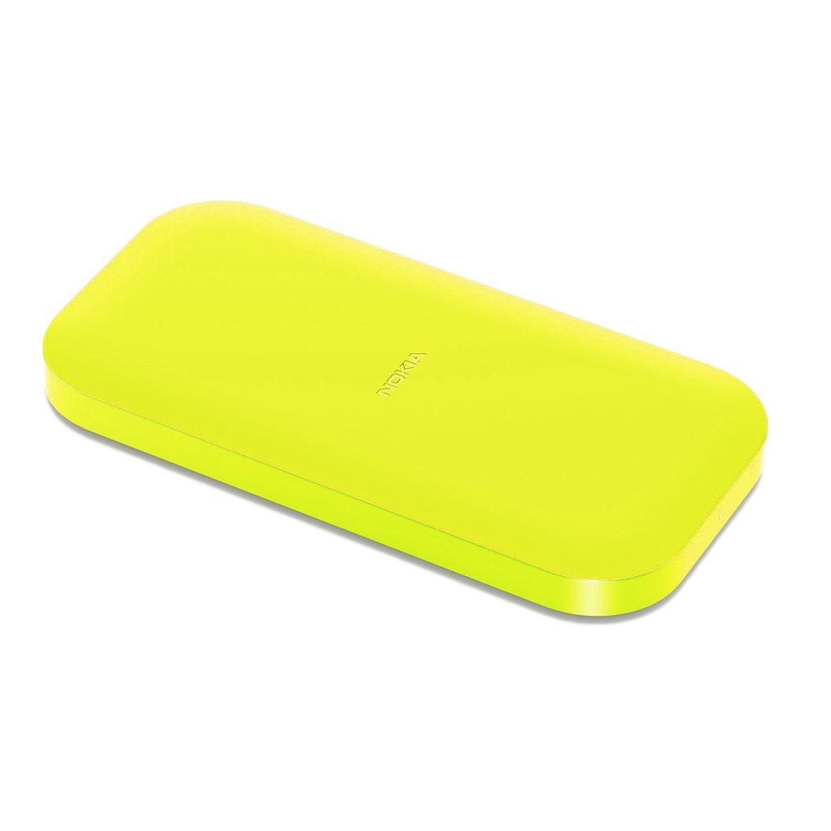 Nokia Socle De Chargement Sans Fil Dc 50 Jaune Chargeur
