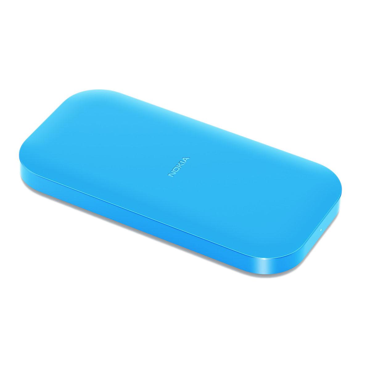 Nokia Socle De Chargement Sans Fil Dc 50 Bleu Chargeur
