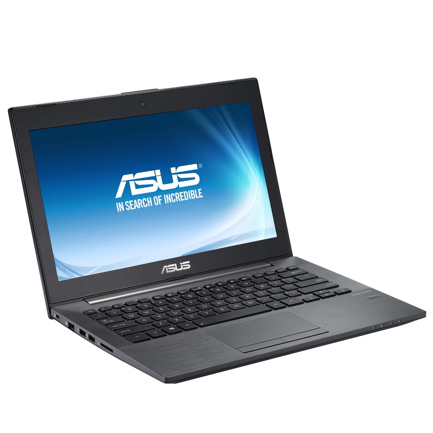 "PC portable ASUS PU301LA-RO122G Intel Core i3-4030U 4 Go 500 Go 13.3"" LED HD Wi-Fi N/Bluetooth Webcam Windows 7 Pro 64 bits + Windows 8 Pro 64 bits (garantie constructeur 2 ans)"