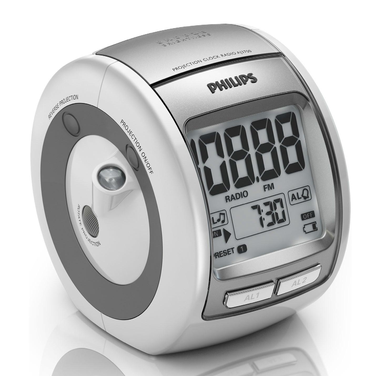 Radio & radio réveil Philips AJ3700 Radio réveil avec projection de l'heure