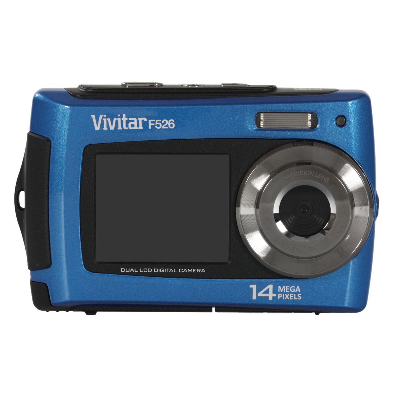 vivitar f526 bleu appareil photo num rique vivitar sur. Black Bedroom Furniture Sets. Home Design Ideas