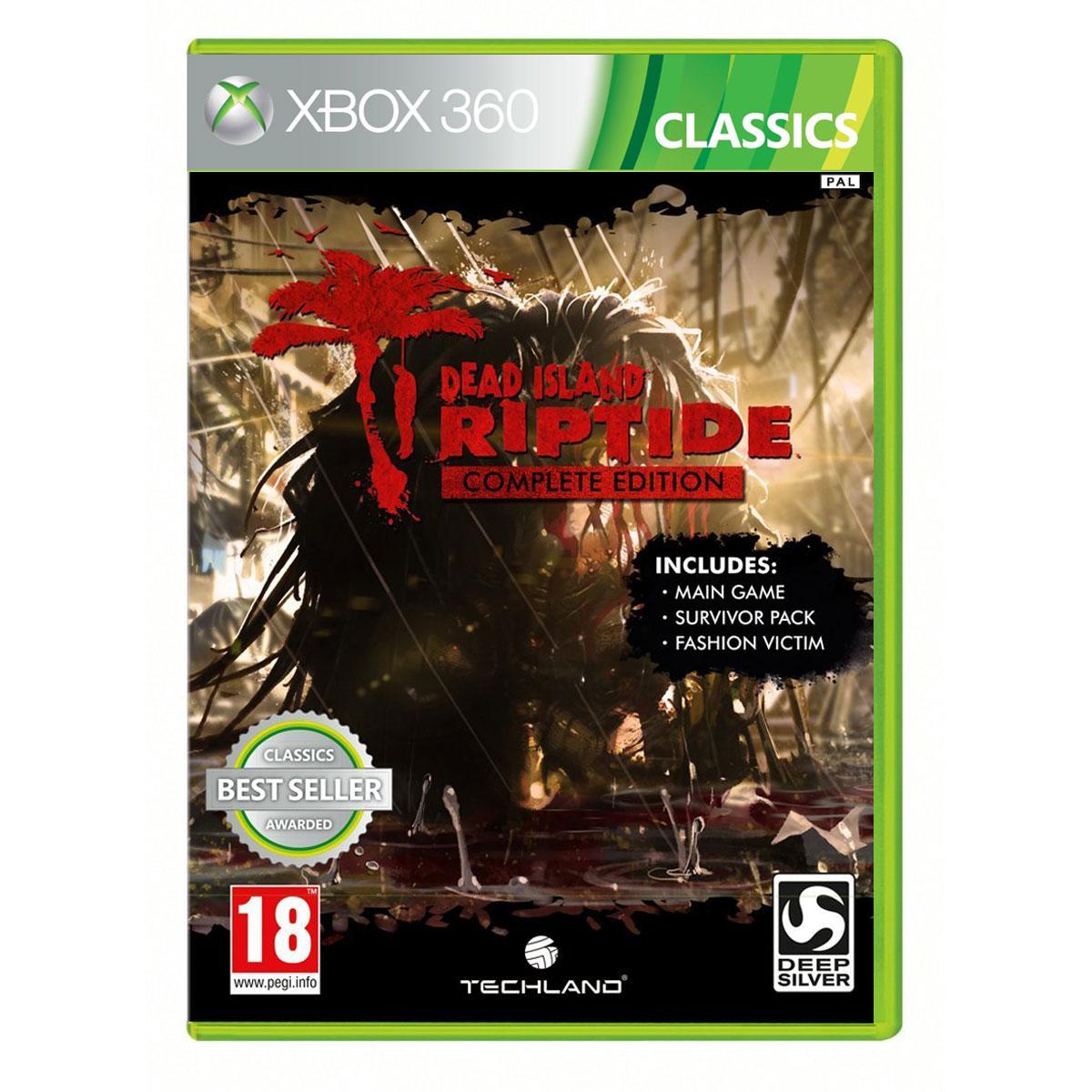 Jeux Xbox 360 Dead Island : Riptide - Edition Complète Classics (Xbox 360) Dead Island : Riptide - Edition Complète Classics (Xbox 360)