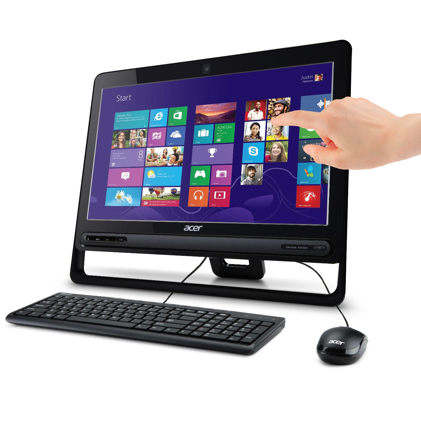 Acer aspire z3 105 dq pc de bureau acer sur - Acer ordinateur de bureau ...