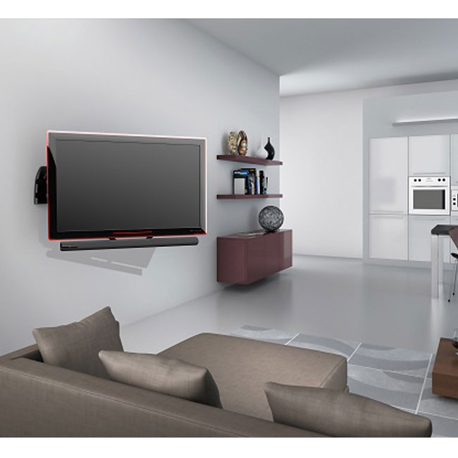 meliconi sound bar 1000 pied support enceinte meliconi sur. Black Bedroom Furniture Sets. Home Design Ideas