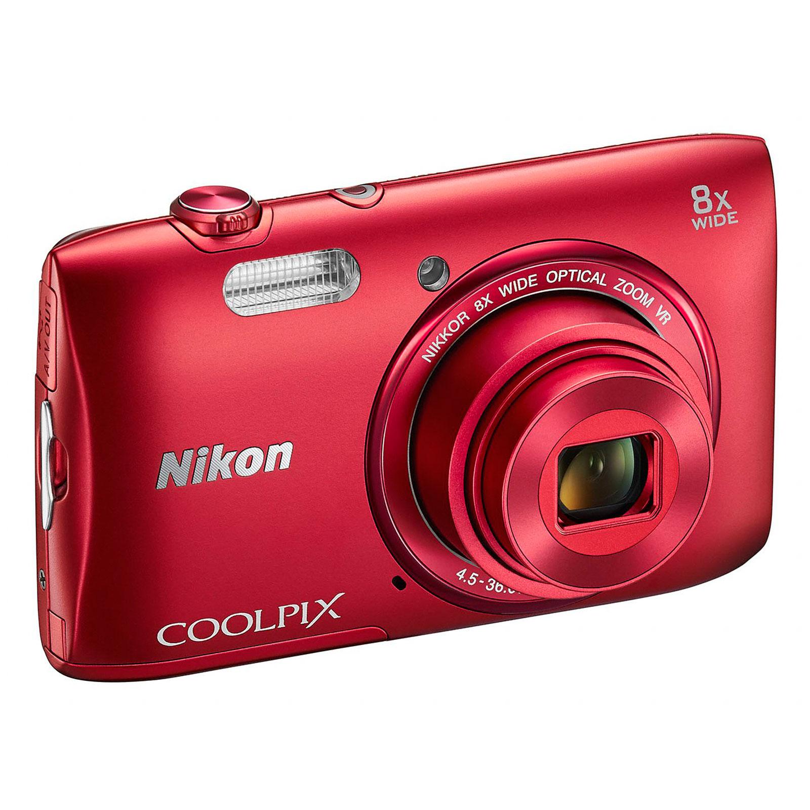 nikon coolpix s3600 rouge appareil photo num rique nikon sur. Black Bedroom Furniture Sets. Home Design Ideas