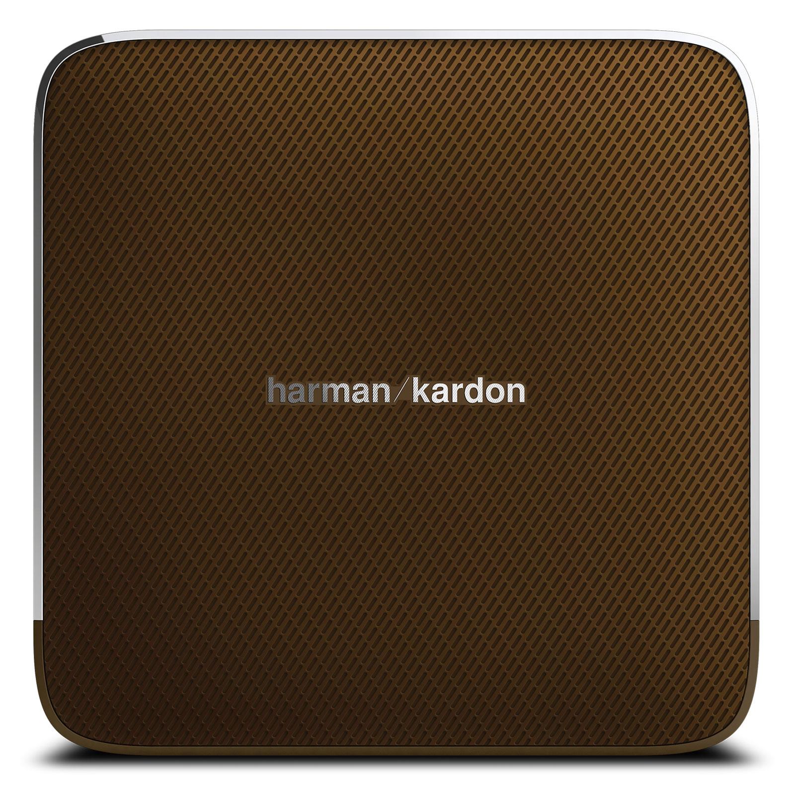 harman kardon esquire marron dock enceinte bluetooth. Black Bedroom Furniture Sets. Home Design Ideas