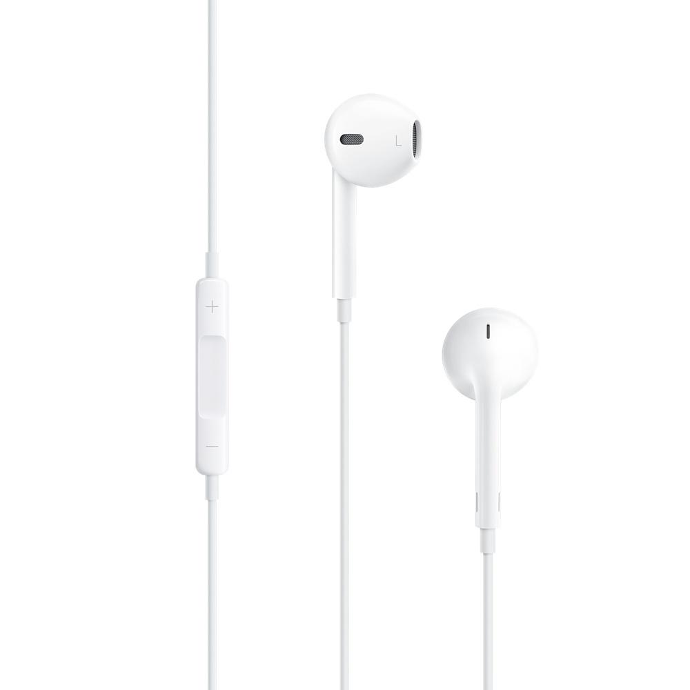 Kit piéton et Casque Apple Earpods (MD827ZM/B) Ecouteurs avec télécommande et micro