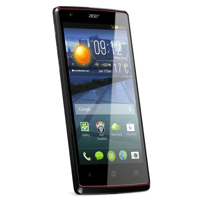 """Mobile & smartphone Acer Liquid E3 Duo Noir Smartphone 3G+ Dual SIM avec écran tactile HD 4.7"""" sous Android 4.2"""