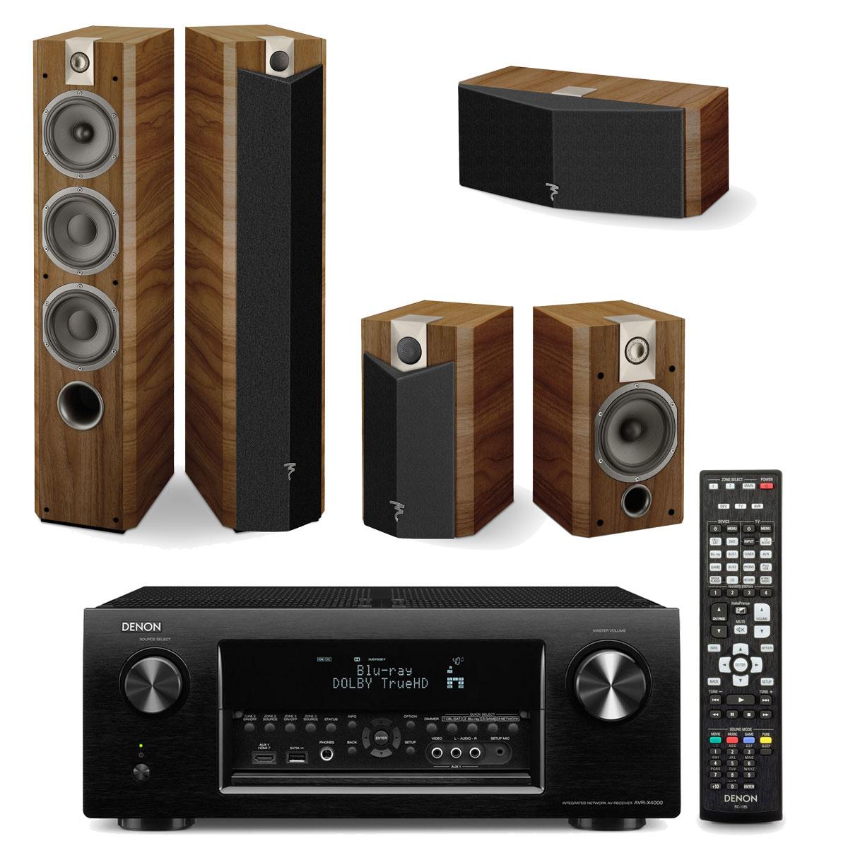 denon avr x4000 noir focal chorus 726 v cigar focal. Black Bedroom Furniture Sets. Home Design Ideas