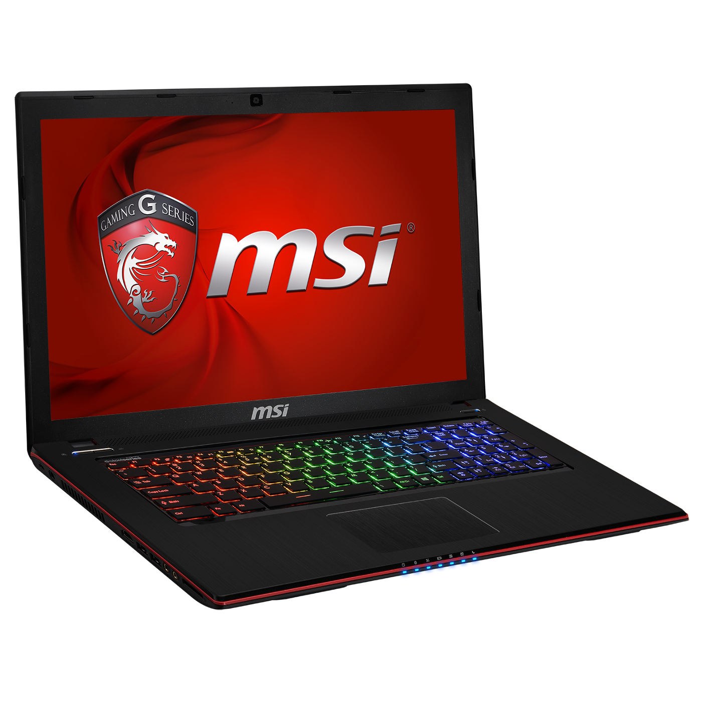 "PC portable MSI GE70 2PE-402FR Apache Pro Intel Core i7-4710HQ 8 Go SSD 128 Go + HDD 750 Go 17.3"" LED NVIDIA GeForce GTX 860M Graveur DVD Wi-Fi AC/Bluetooth Webcam Windows 8.1 64 bits (garantie constructeur 1 an)"