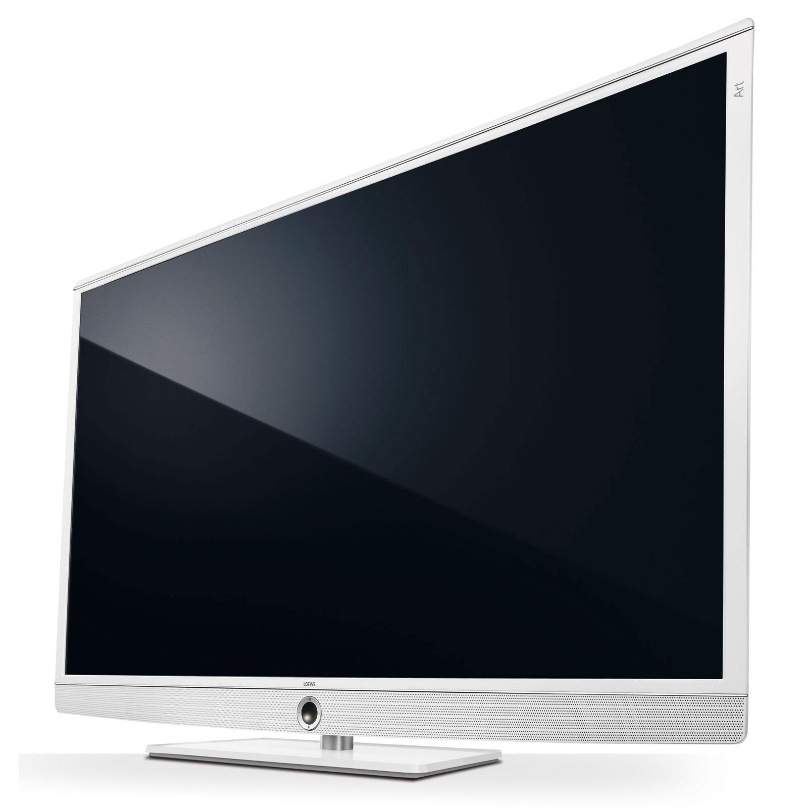loewe art 50 blanc tv loewe sur. Black Bedroom Furniture Sets. Home Design Ideas