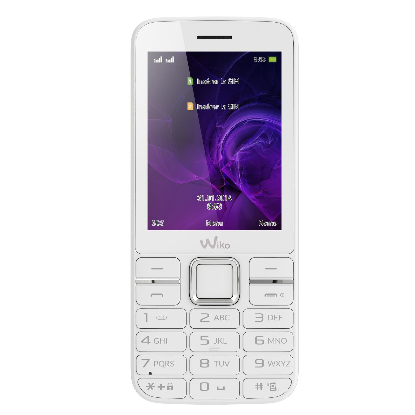 Wiko kar 3 blanc mobile smartphone wiko sur for Photo ecran wiko