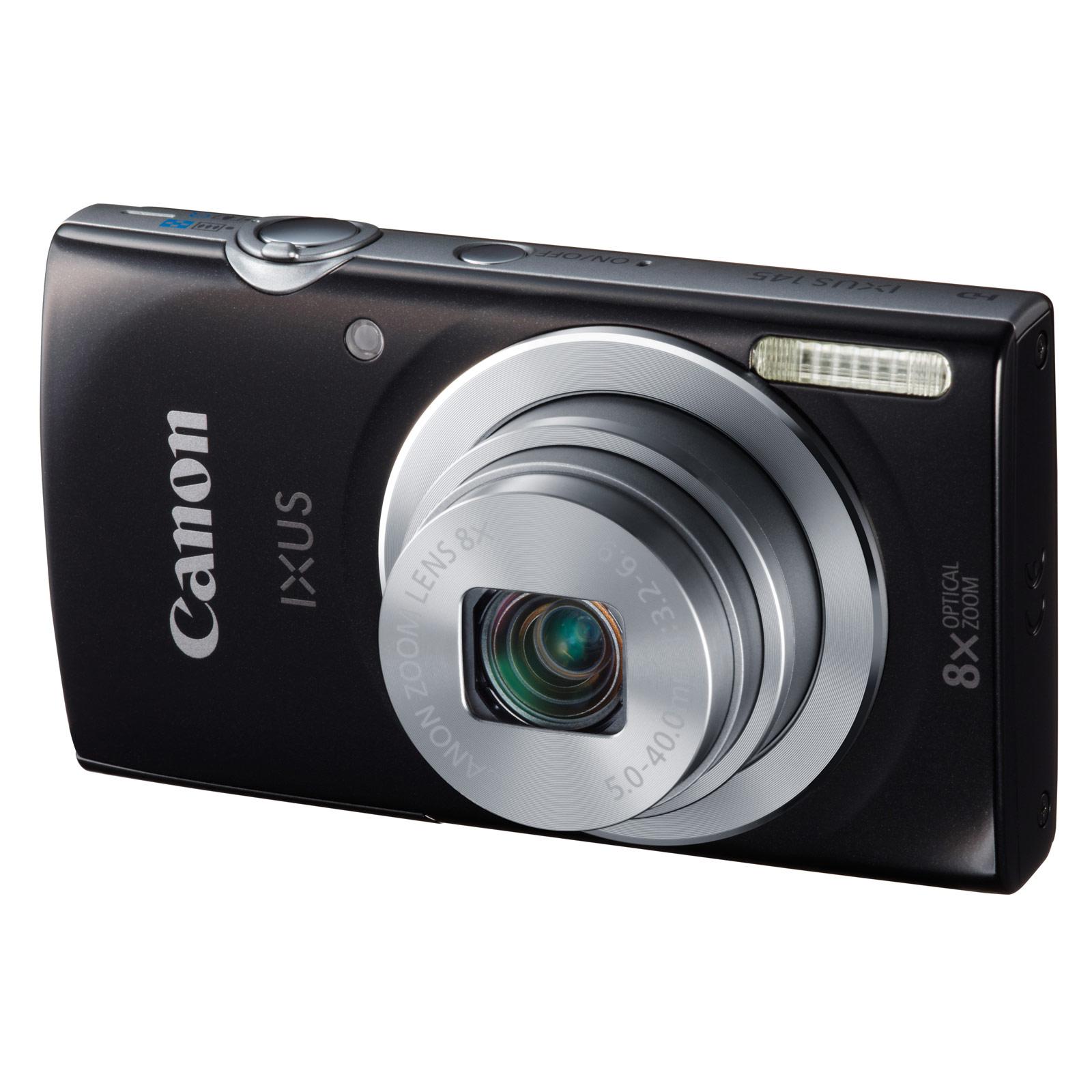 canon ixus 145 noir appareil photo num rique canon sur. Black Bedroom Furniture Sets. Home Design Ideas