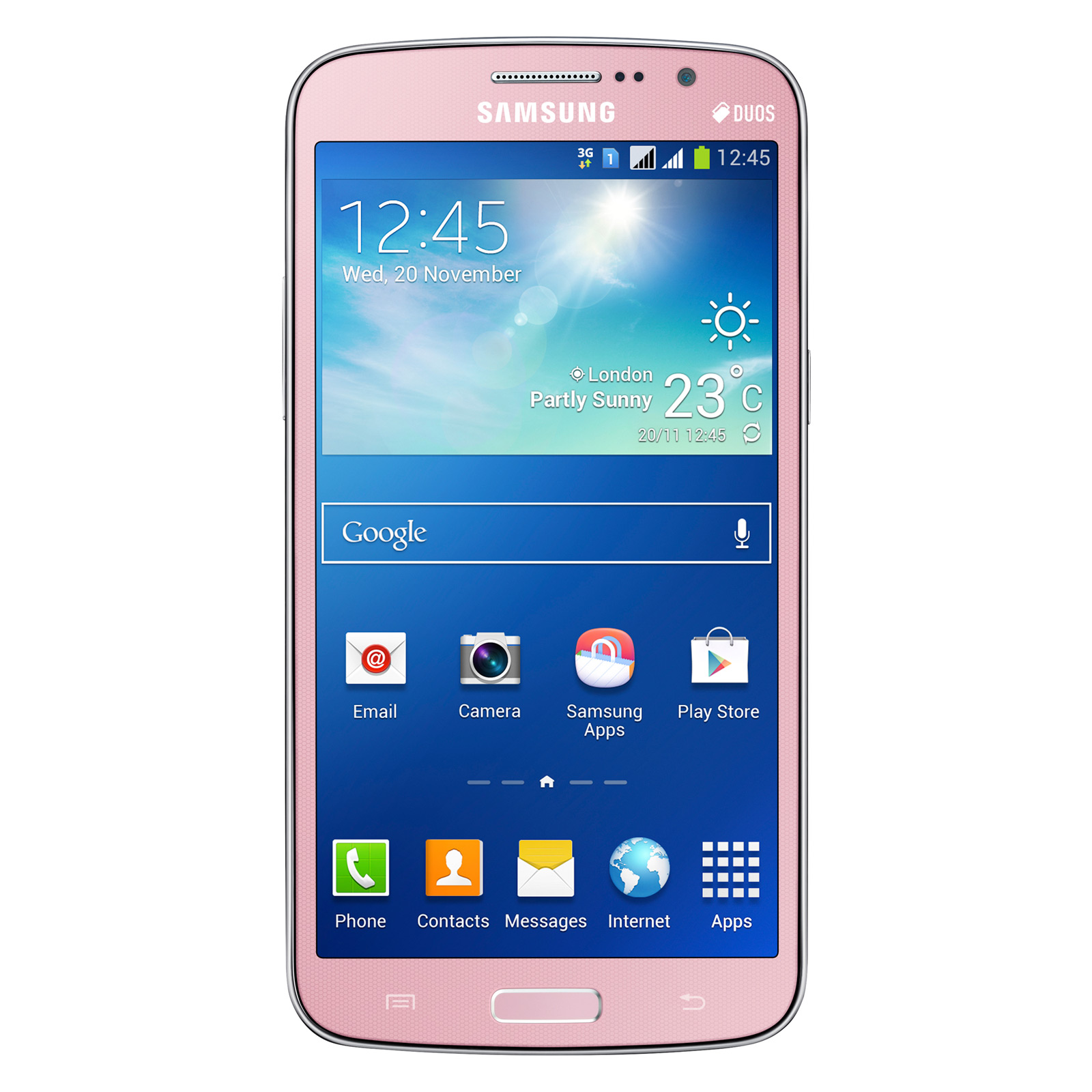 Samsung Galaxy Grand 2 SM G7105 Rose Mobile & smartphone