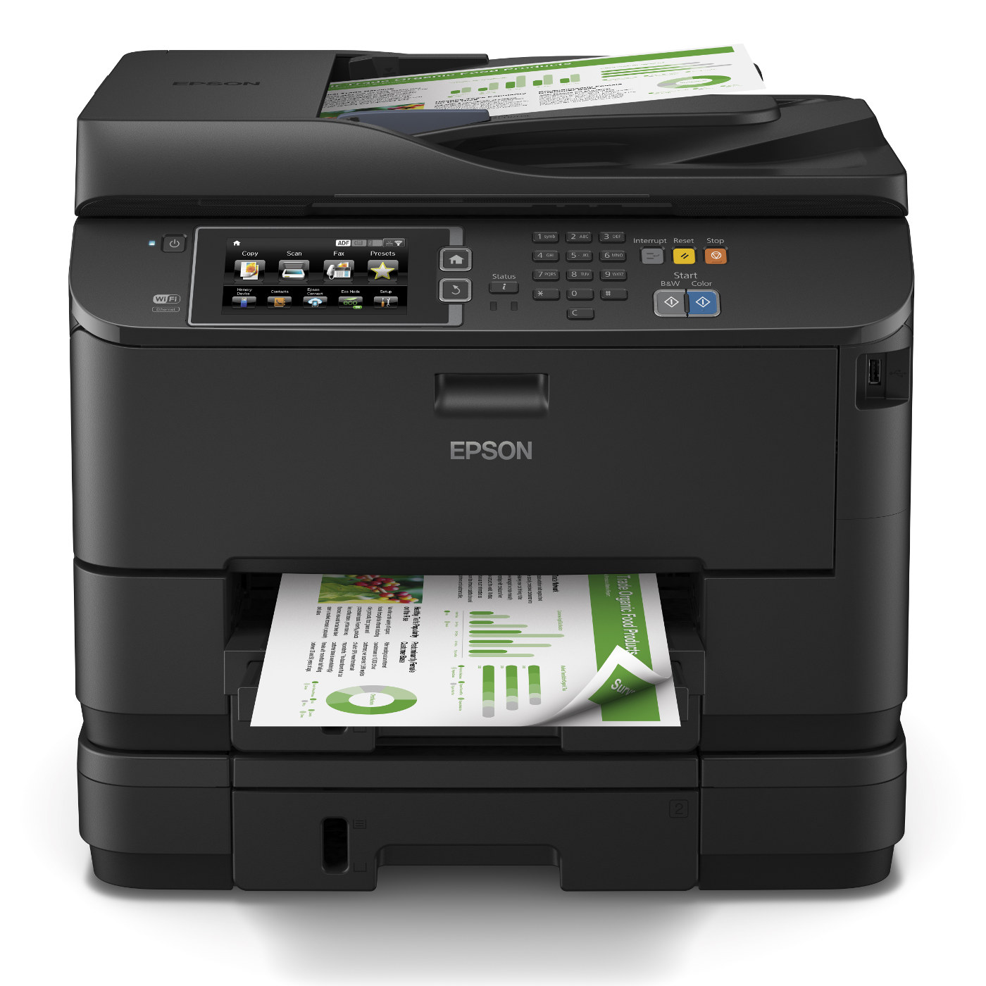 epson workforce wf 4640dtwf imprimante multifonction. Black Bedroom Furniture Sets. Home Design Ideas