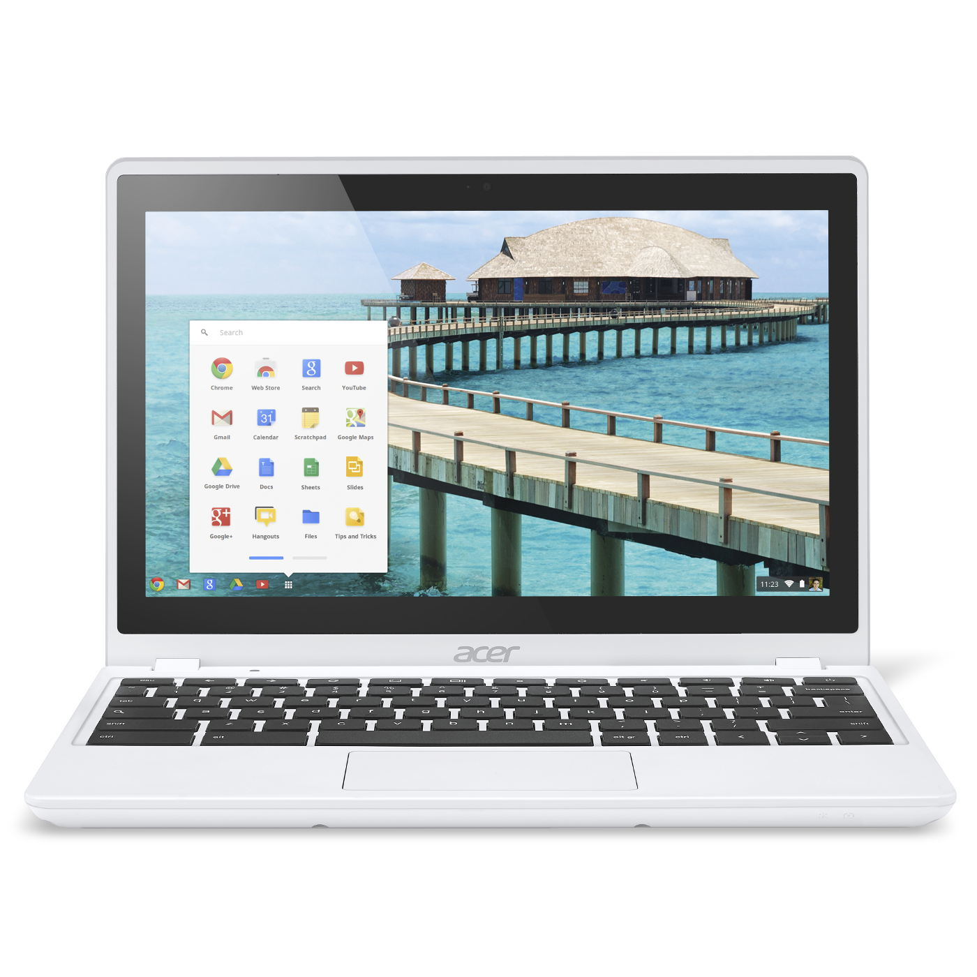 acer chromebook c720p 29552g03aww blanc pc portable acer sur. Black Bedroom Furniture Sets. Home Design Ideas