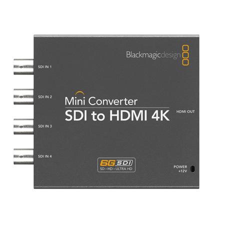 Carte d'acquisition Blackmagic Design Mini Converter SDI to HDMI 4K Mini convertisseur SDI vers HDMI 4K