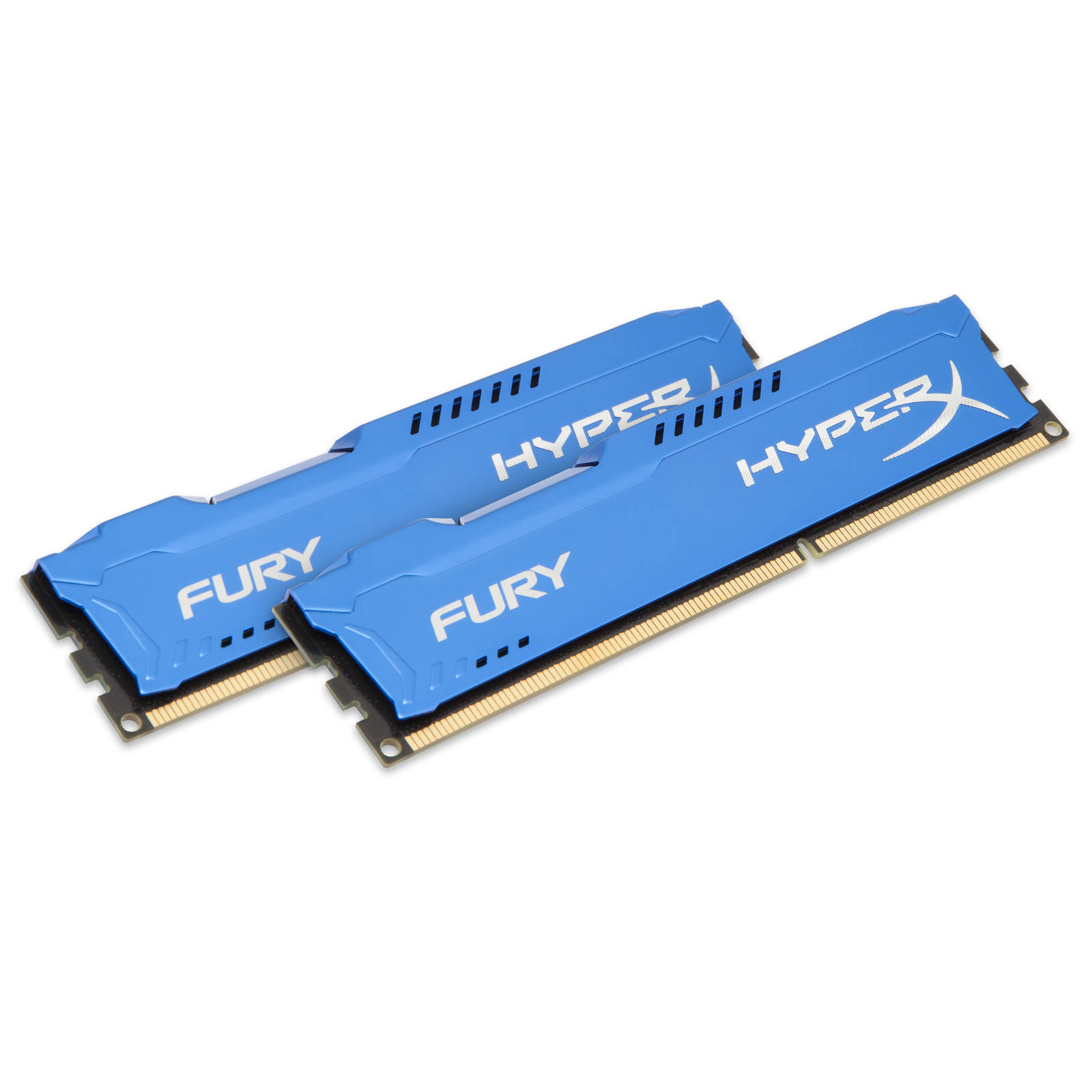 Mémoire PC HyperX Fury 8 Go (2x 4Go) DDR3 1600 MHz CL10 Kit Dual Channel RAM DDR3 PC12800 - HX316C10FK2/8