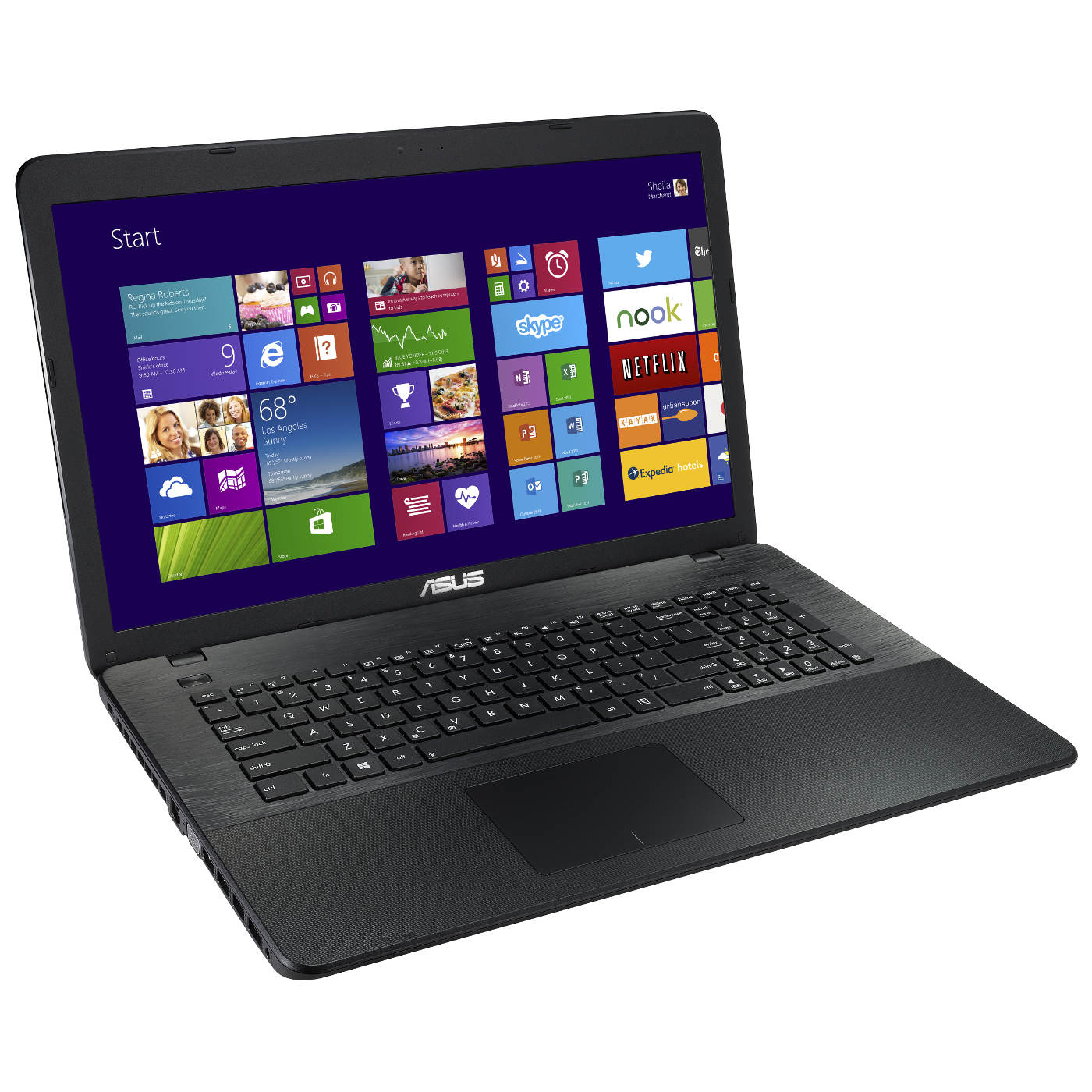 asus x751lav ty481t noir pc portable asus sur. Black Bedroom Furniture Sets. Home Design Ideas