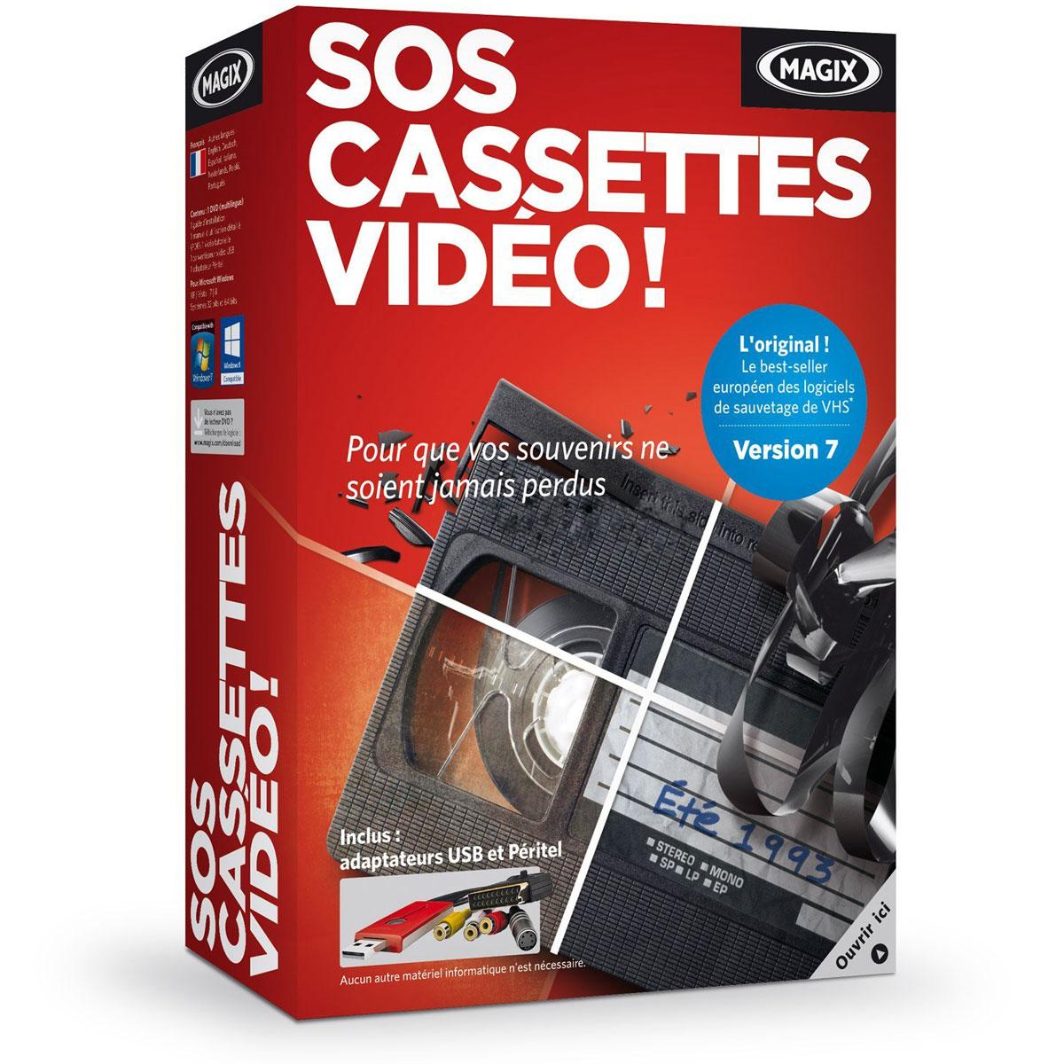 magix sos cassettes video 7 logiciel image son magix sur. Black Bedroom Furniture Sets. Home Design Ideas