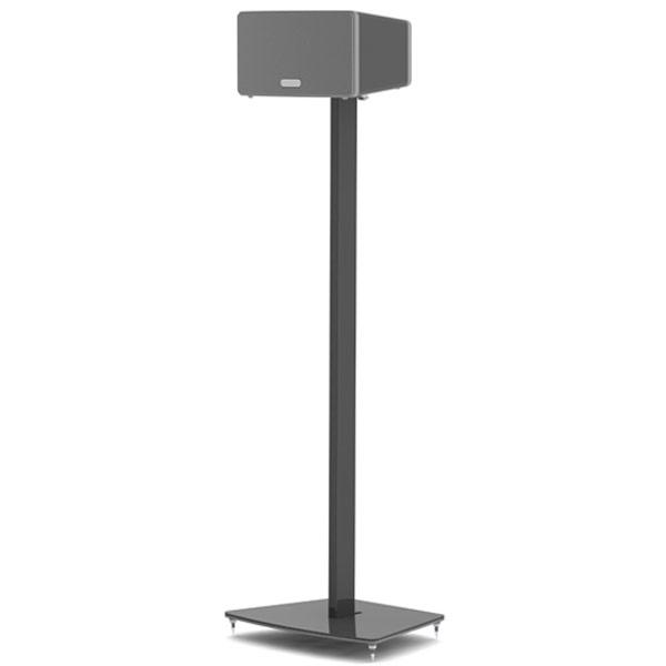 flexson stand sonos play 3 noir unit pied support enceinte flexson sur. Black Bedroom Furniture Sets. Home Design Ideas