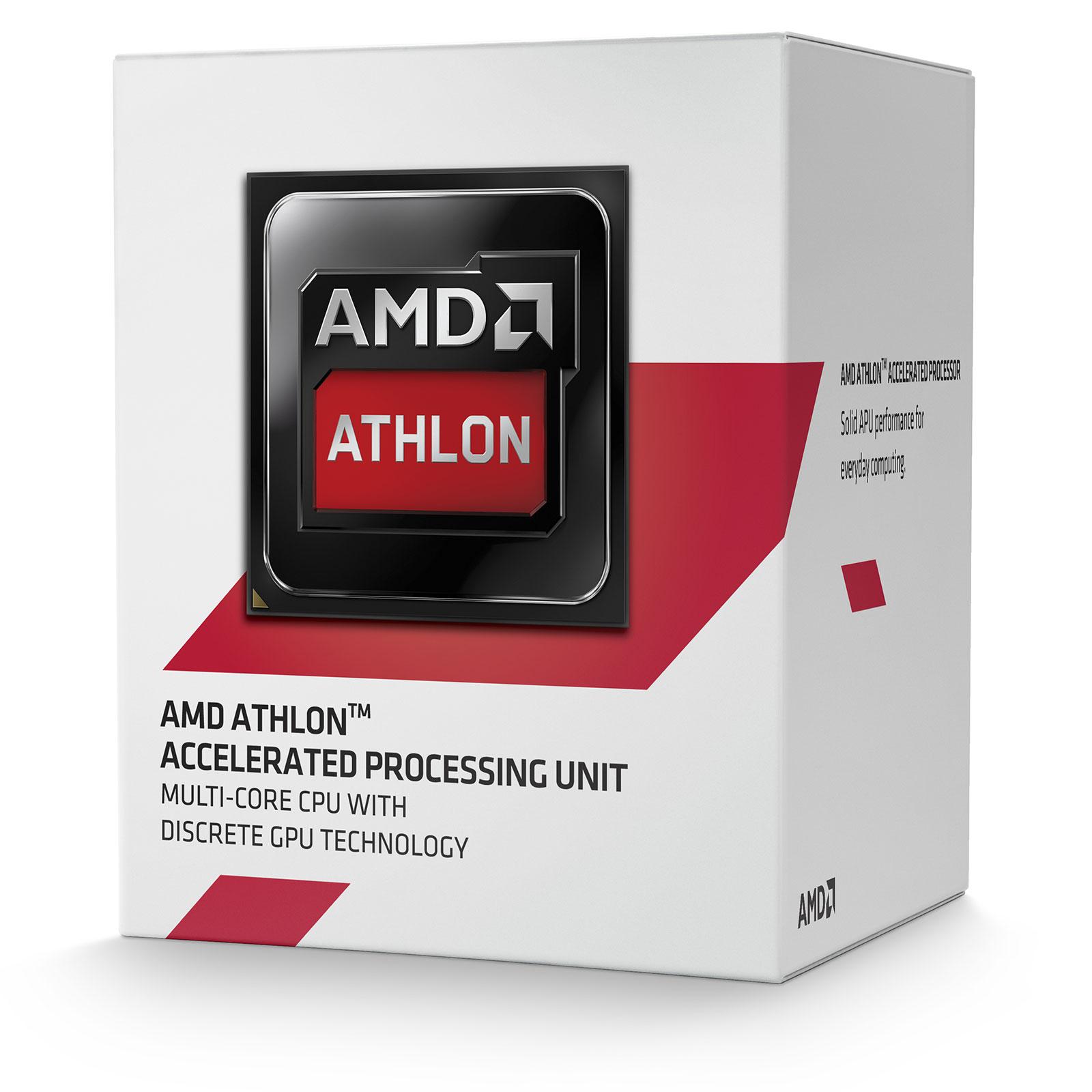 Processeur AMD Athlon 5150 (1.6 GHz) Processeur Quad Core Socket AM1 (FS1b) 0.028 micron Cache L2 2 Mo (version boîte - garantie constructeur 3 ans)