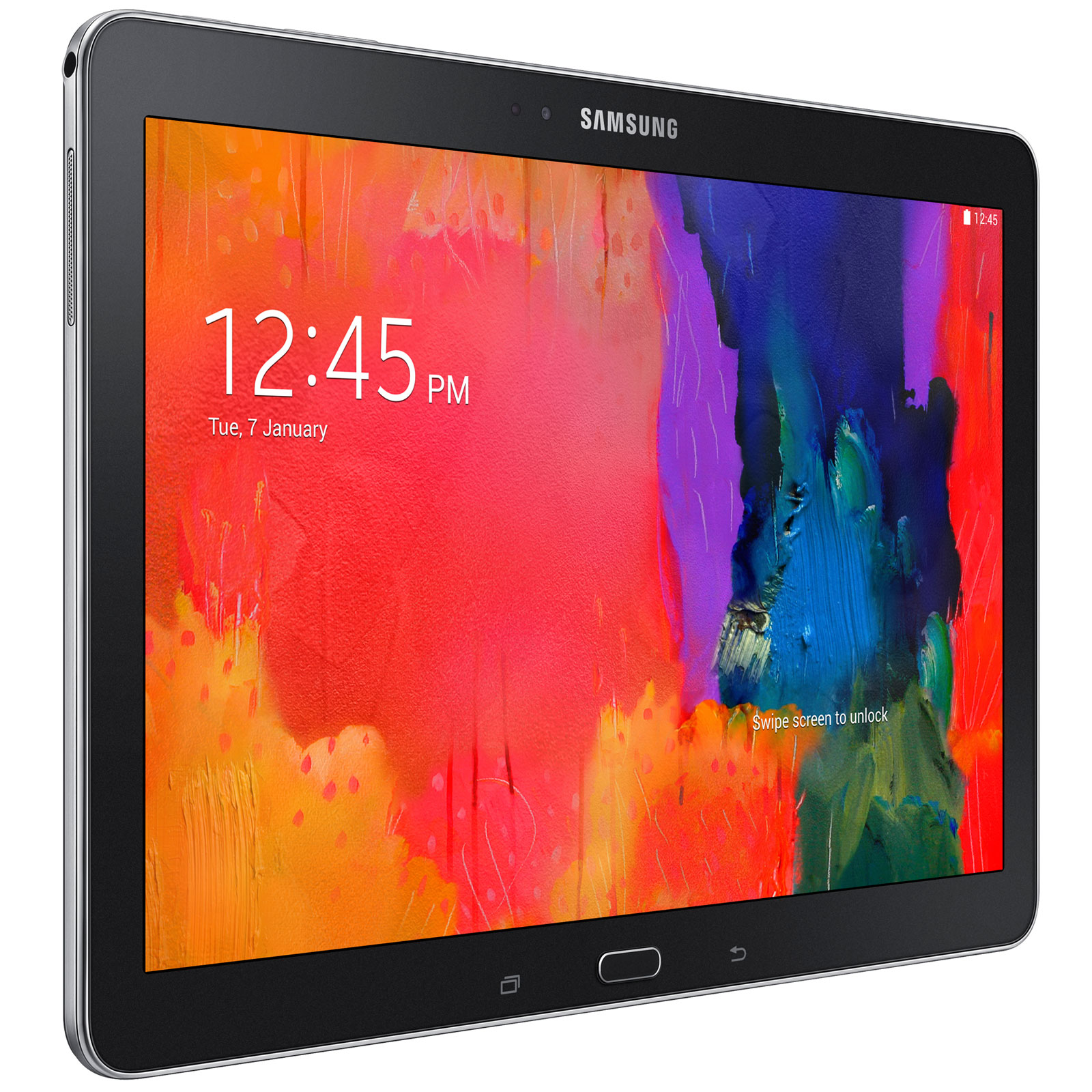 samsung galaxy tab pro 10 1 sm t520 16 go noir tablette. Black Bedroom Furniture Sets. Home Design Ideas