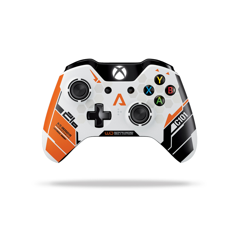 microsoft xbox one wireless controller edition titanfall xbox one accessoires xbox one. Black Bedroom Furniture Sets. Home Design Ideas